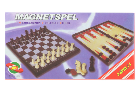 Sada magnetických her na cesty